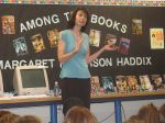 Monday Morning Wisdom #149: H is for Margaret Peterson Haddix