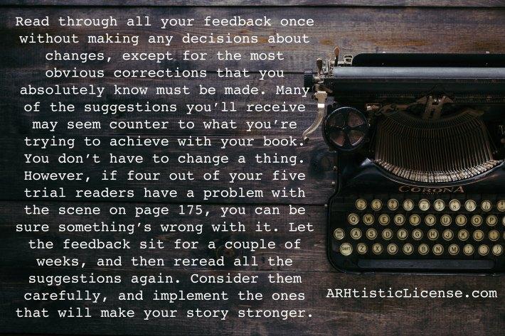 Processing feedback