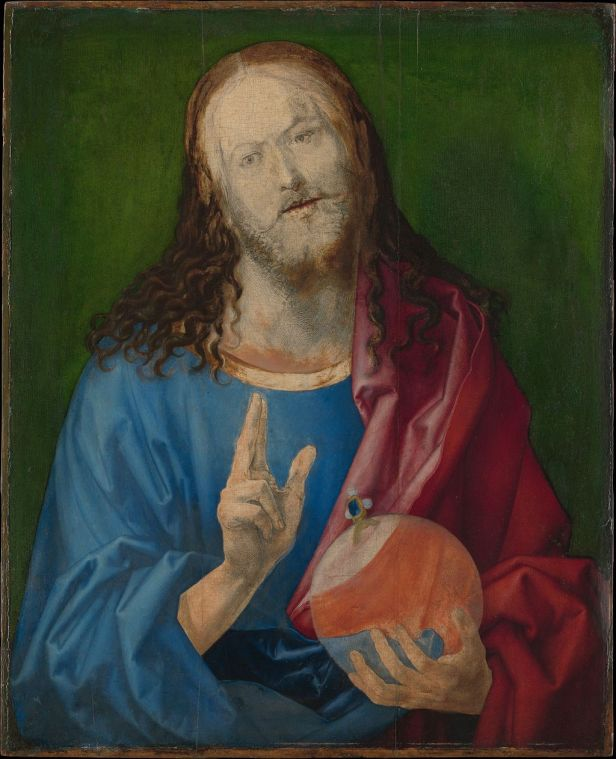 "Christ As Salvator Mundi >> Guest Post: ""Salvator Mundi"" by Albrecht Dürer from The Joy of Museums 