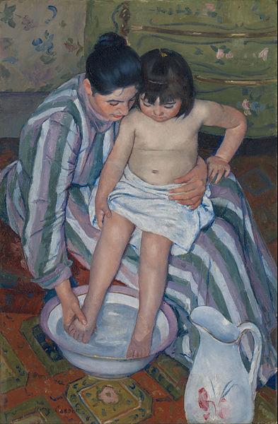 393px-Mary_Cassatt_-_The_Child's_Bath_-_Google_Art_Project