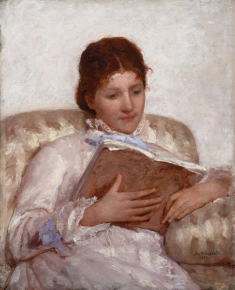 486px-Mary_Cassatt_The_Reader_1877