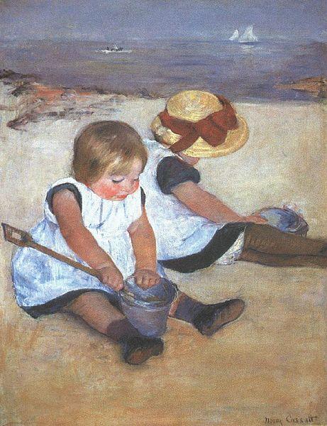 Cassatt_Mary_Children_on_the_Beach_1884