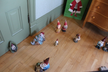 Oops. This room has been taken over by Danish nisser and some other little dwarfs and gnomes.