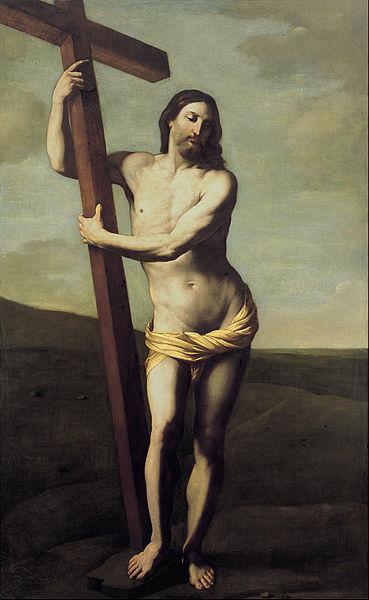 jesus christ with the cross 369px-guido_reni_-_cristo_resucitado_abrazado_a_la_cruz_-_google_art_project