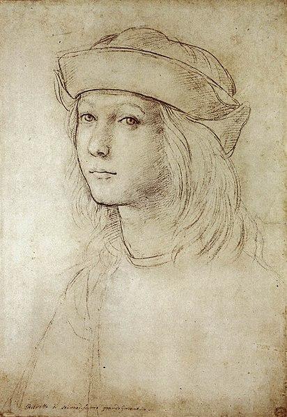 412px-Raphael_self-portrait