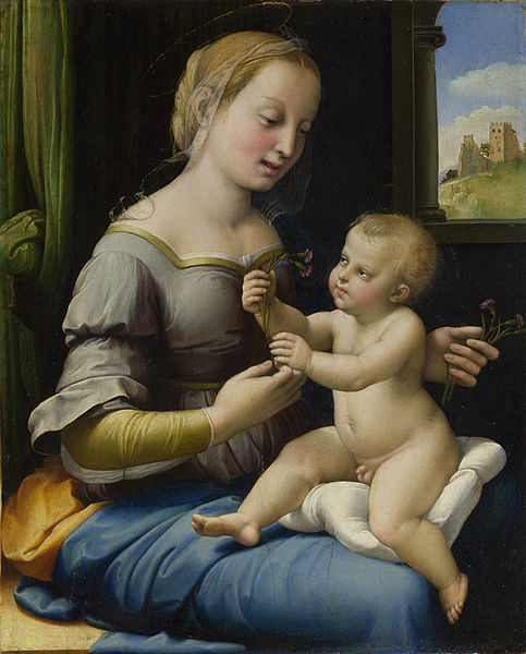 483px-Raphael_Madonna_of_the_Pinks