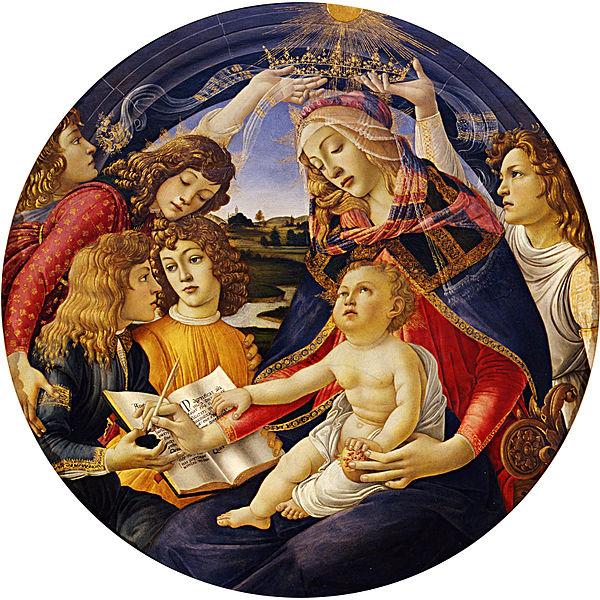 600px-Sandro_Botticelli_-_Madonna_del_Magnificat_-_Google_Art_Project
