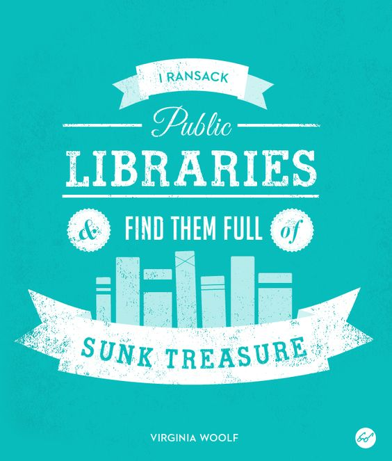 libraries sunk-treasure