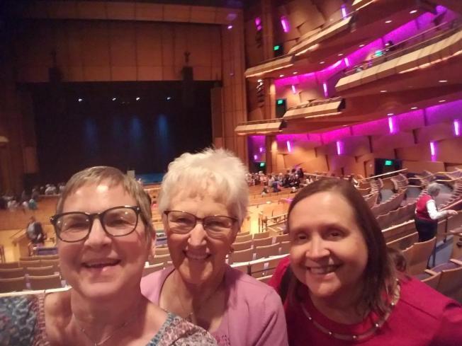 Linda, Judy, and me