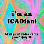 ICAD 2019 Weeks 1 &2