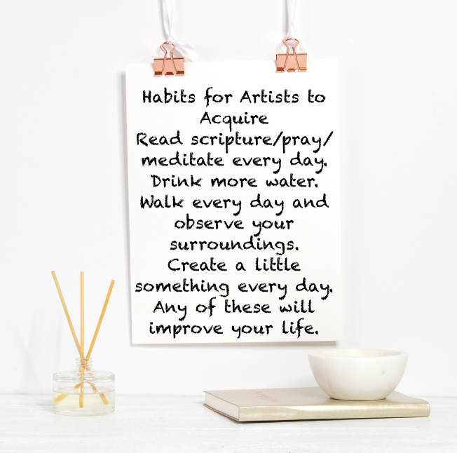 Habits for Writers