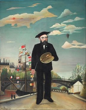 Henri Rousseau, Self Portrait
