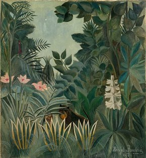 Henri Rousseau, The Equatorial Jungle