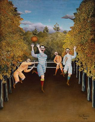 Henri Rousseau, The Football Players