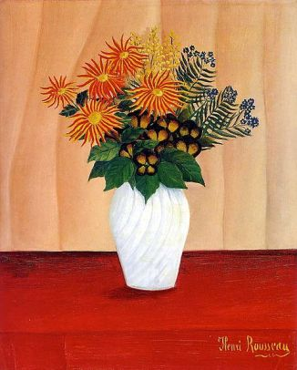 Henri Rousseau, Bouquet of Flowers