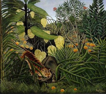 Henri Rousseau, Fight Between a Tiger and a Buffalo
