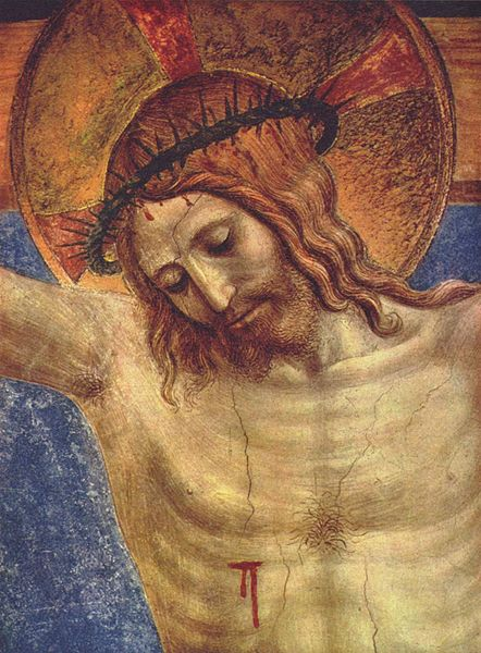 442px-Fra_Angelico_012 Crucified Christ