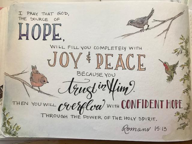 Holly Mitchell Romans 15-13