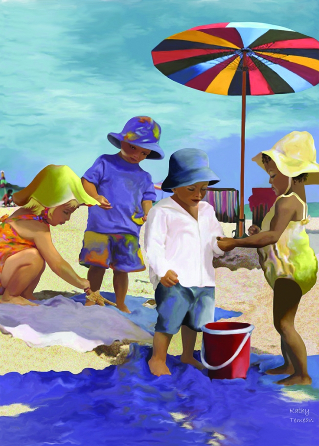 1. BABES ON BEACH