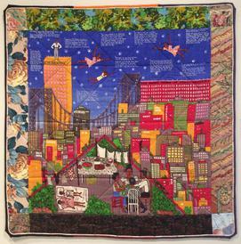 Faith Ringgold; story quilt; quilt